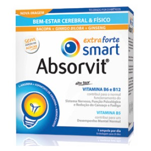Absorvit Smart Extra Forte Ampolas
